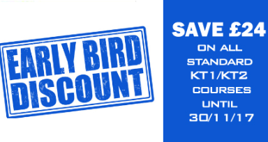Early Bird 2018 Training Offer...Save 24!